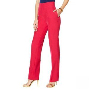 NWT DG2 Wrinkle Resistant Trousers PM Magenta